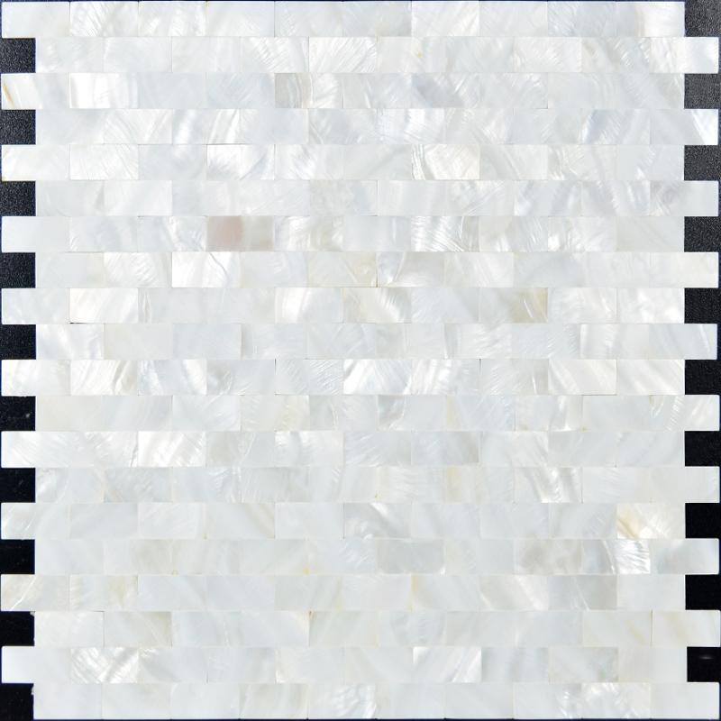 Model  Pearl Tile Fresh Water Shell Tiles Seamless Subway Wall Tiles Kitchen