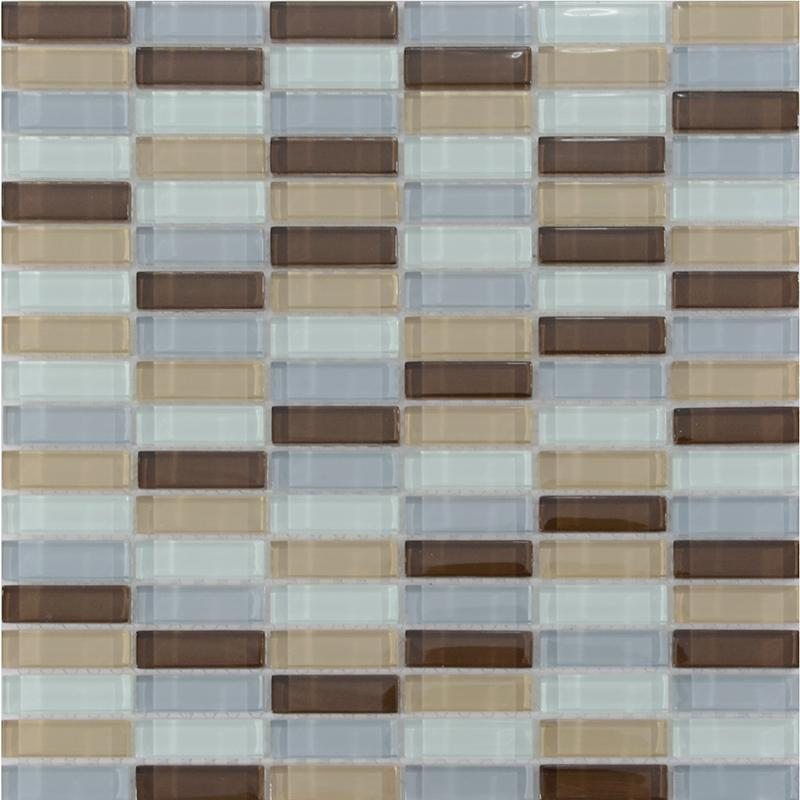 Glass Tile Kitchen Backsplash Sheets Bathroom Mirror Wall Tiles Zz010