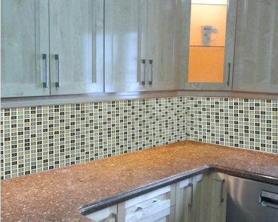 crystal glass mosaic wall tiles kitchen backsplash tile