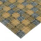 crystal glass backsplash tiles british grid glass mosaic floor tile kitchen backsplash sheets bathroom wall tiles brick ZZ026