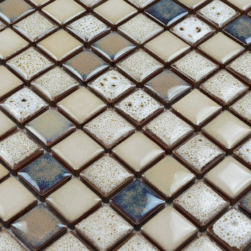 Glazed Porcelain Tile Flooring Ceramic Mosaic Floor Tiles Sd001