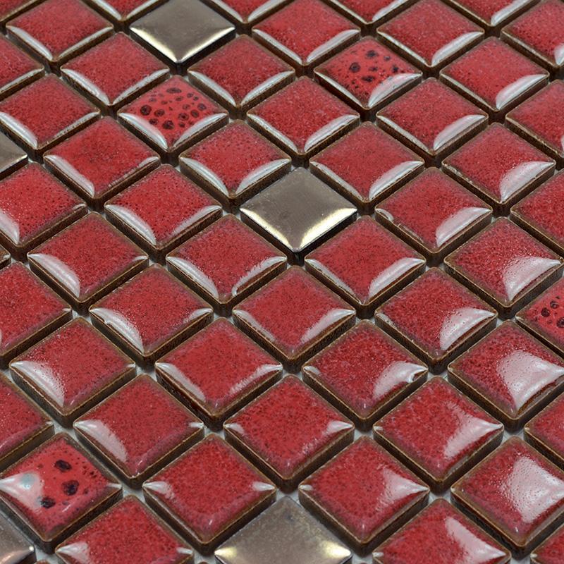 Porcelain Tile Backsplash Ceramic Mosaic Tile Stickers Fireplace Sd002