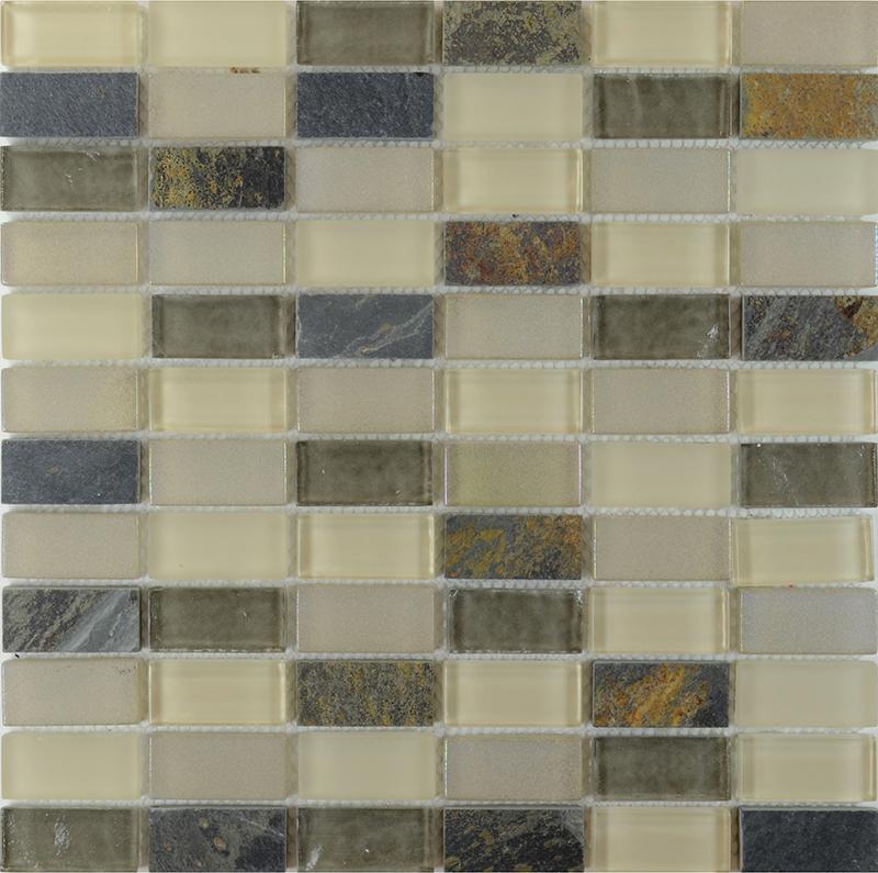 stone glass blend mosaic wall tiles marble tile flooring