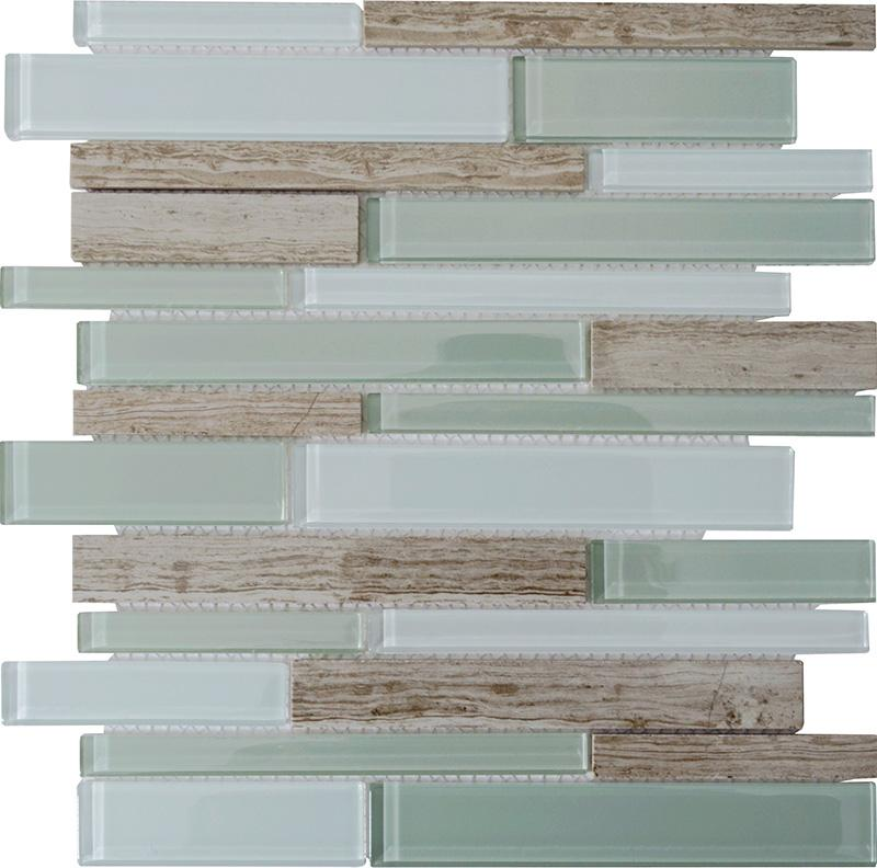stone and glass backsplash tiles 1sf marble stone green brown