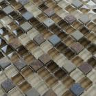 crystal glass tile natural stone & glass blend mosaic bathroom wall tiles stone glass mosaic kitchen backsplash tiles SG130