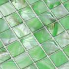 mother of pearl mosaic tiles green shell pearl tile backsplash bathroom wall tile kitchen BK02 painted seashell mosaics