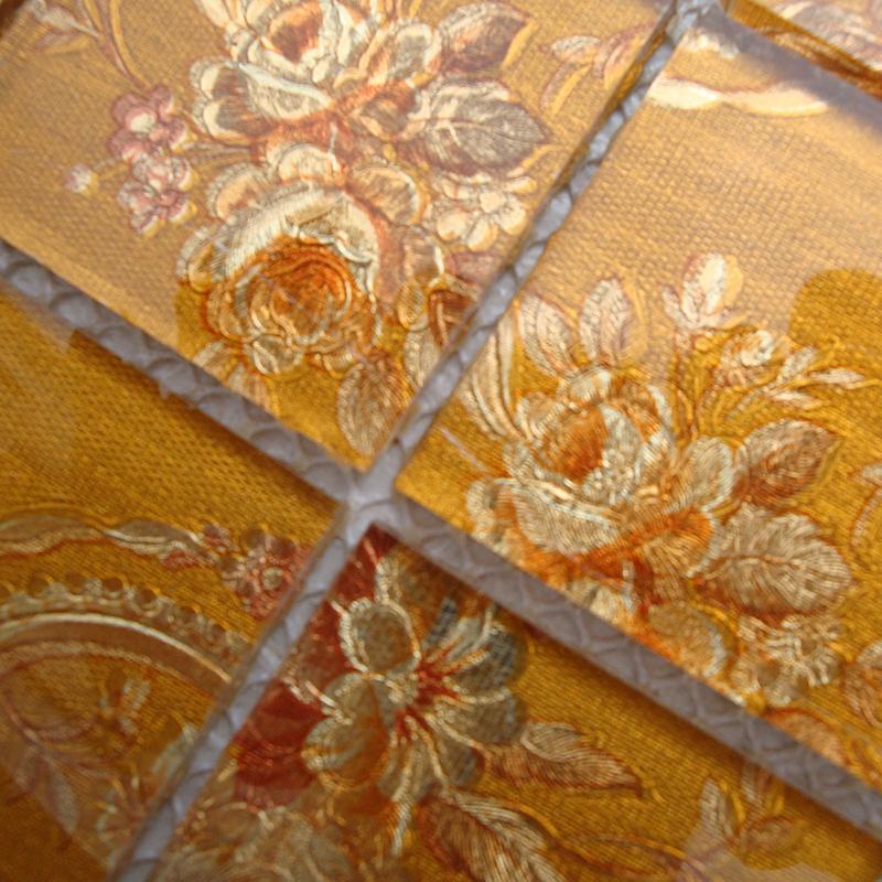 glass mosaic wall art murals puzzle mosaic tile designs lh908. Black Bedroom Furniture Sets. Home Design Ideas