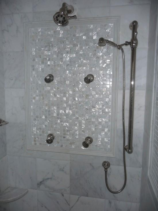 mother of pearl tile backsplash mirror wall tiles fresh water shell mosaic tiles SW00251 natural seashell