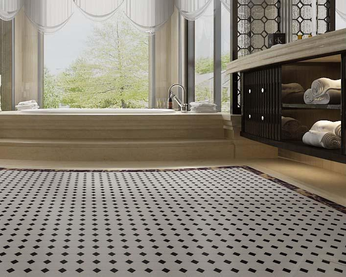 Porcelain Tile Flooring Designs Ceramic Mosaic Tile Stickers Hb 680