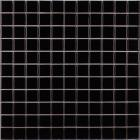 kitchen porcelain tile backsplash black glazed ceramic mosaic flooring designs HB-009 bathroom wall tiles swimming pool tile