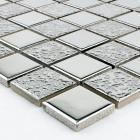 porcelain tile backsplash kitchen silver ceramic mosaic flooring designs HD-063 mirror fireplace bathroom wall tiles