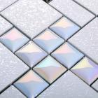 porcelain tile backsplash metal coating ceramic mosaic designs HD-299 kitchen tile stickers bathroom wall tiles