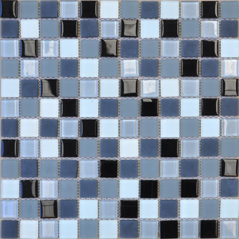 Glass mosaic tiles kitchen backsplash tile bathroom wall Mosaic kitchen wall tiles ideas