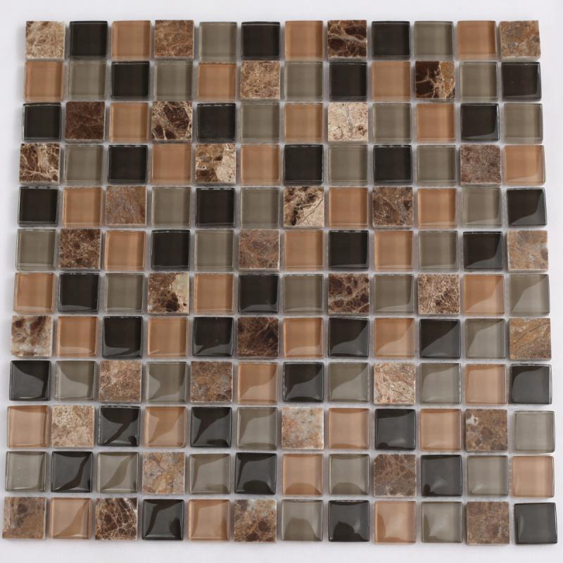 Stone glass mosaic tile sheets kitchen backsplash tiles marble sas2306 Backsplash mosaic tile
