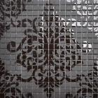 black glass mosaic tile patterns frosted crystal glass tile backsplash puzzle mosaic tile art 15x15mm wall and floor tiles H059