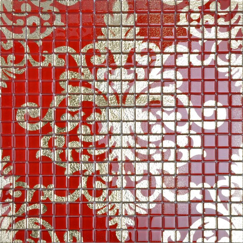Glass Mosaic Wall Art Murals Puzzle Mosaic Tile Designs