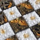 ceramic tile stickers fireplace mirror bathroom wall tiles crystal glass tile NM010 kitchen backsplash porcelain floor tiles