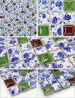 glazed porcelain tile flooring designs kitchen backsplash tiles italian ceramic mosaic tile stickers bathroom wall tiles JN004