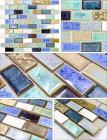 glazed porcelain tile flooring designs kitchen backsplash tiles subway ceramic mosaic tile stickers bathroom wall tiles JN005