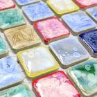 italian porcelain tile backsplash bathroom wall art glazed ceramic kitchen floor tiles GM03 porcelain mosaic mirrored stickers
