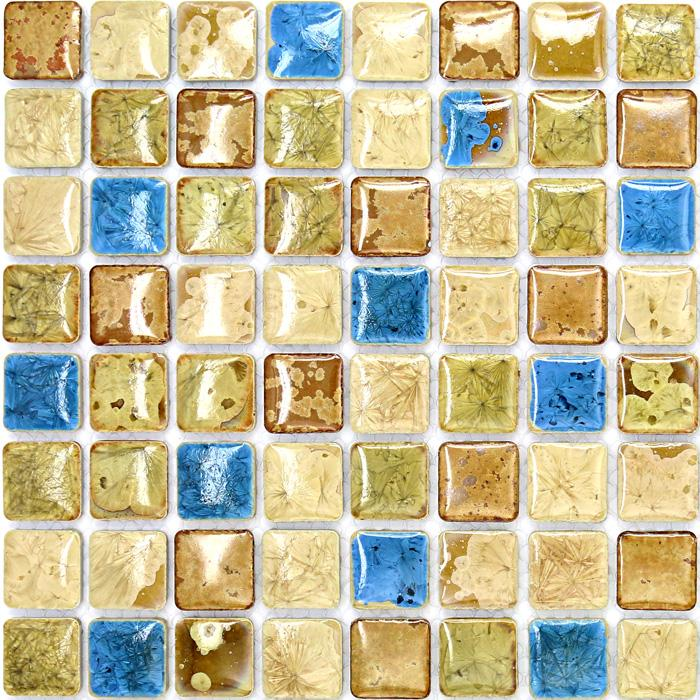 Ceramic Bathroom Tiles Handmade In Italy: Italian Porcelain Tile Backsplash Bathroom Walls Glazed