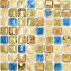 italian porcelain tile backsplash bathroom wall art glazed ceramic kitchen floor tiles GM05 porcelain mosaic mirrored stickers