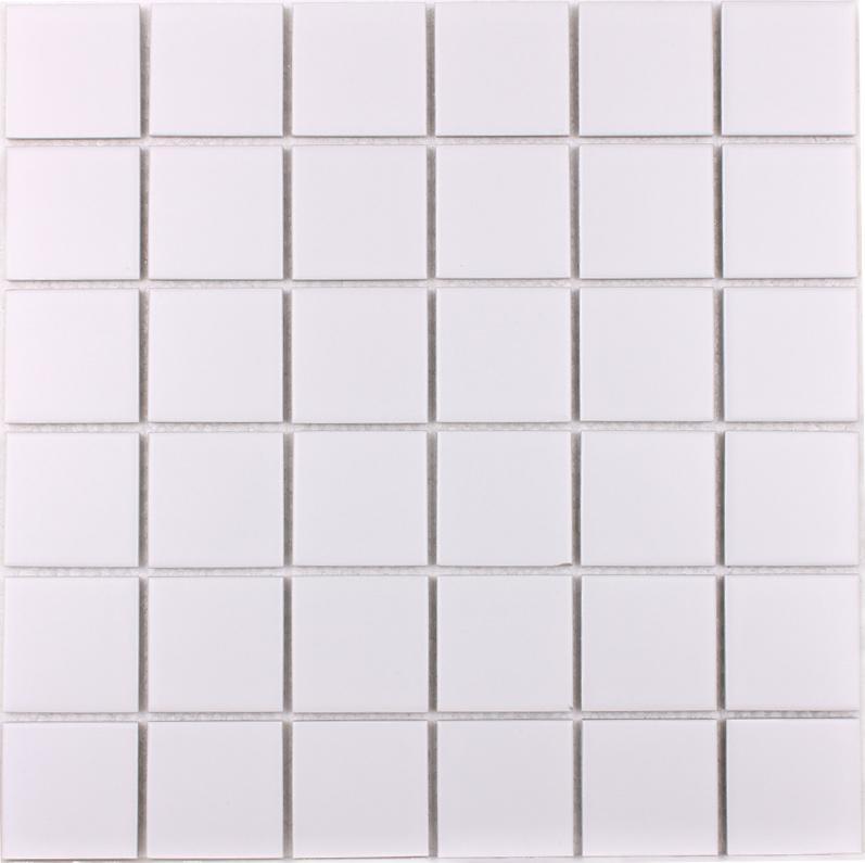 Wholesale Porcelain Floor Tile Mosaic White Square Brick