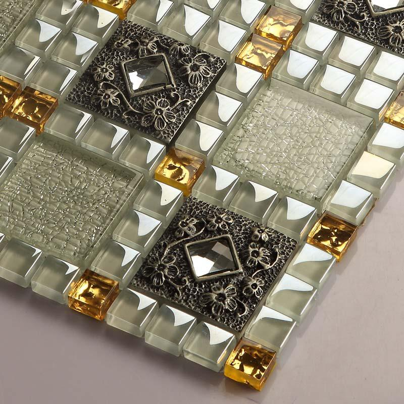 wholesale vitreous mosaic tile diamond crystal glass backsplash kitche. Black Bedroom Furniture Sets. Home Design Ideas