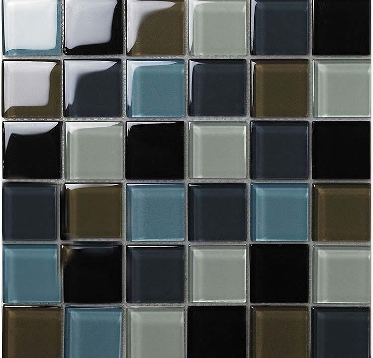Wholesale vitreous mosaic tile crystal glass backsplash for Washroom tiles design