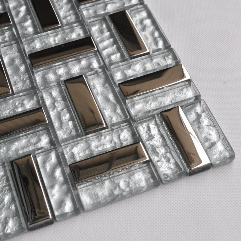 Wholesale metallic backsplash tiles silver 304 stainless steel sheet m - Silver tin backsplash tiles ...