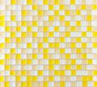 mosaic tile crystal glass backsplash washroom design bathroom wall floor tiles yellow bedroom