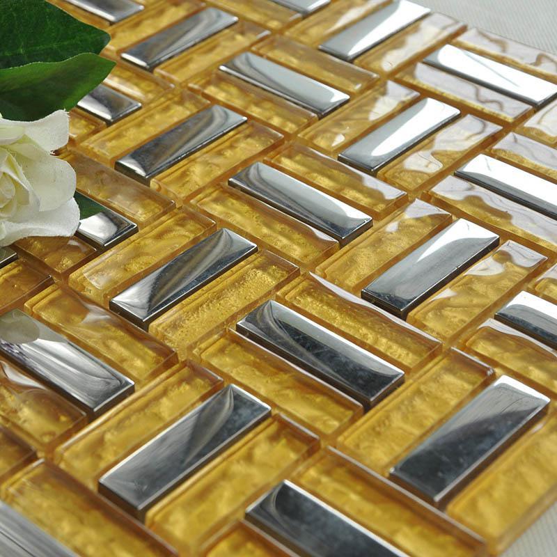 metallic backsplash tiles silver 304 stainless steel sheet metal and