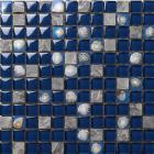 marble with blue crystal shell mosaic tile sheet  design backsplash wall stickers bedroom kitchen