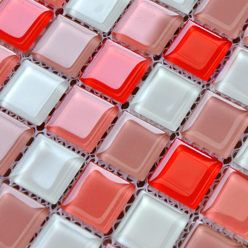 Wholesale Crystal Glass Mosaic Tiles Kitchen Backsplash Design Bathroo