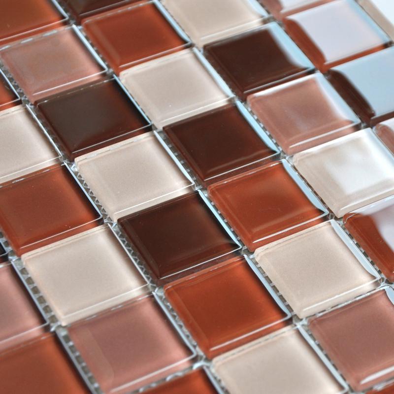 Wholesale free shipping crystal glass mosaic tile washroom for Washroom tiles design