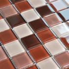 free shipping crystal glass mosaic tile washroom backsplash design kitchen wall floor tiles bathroom