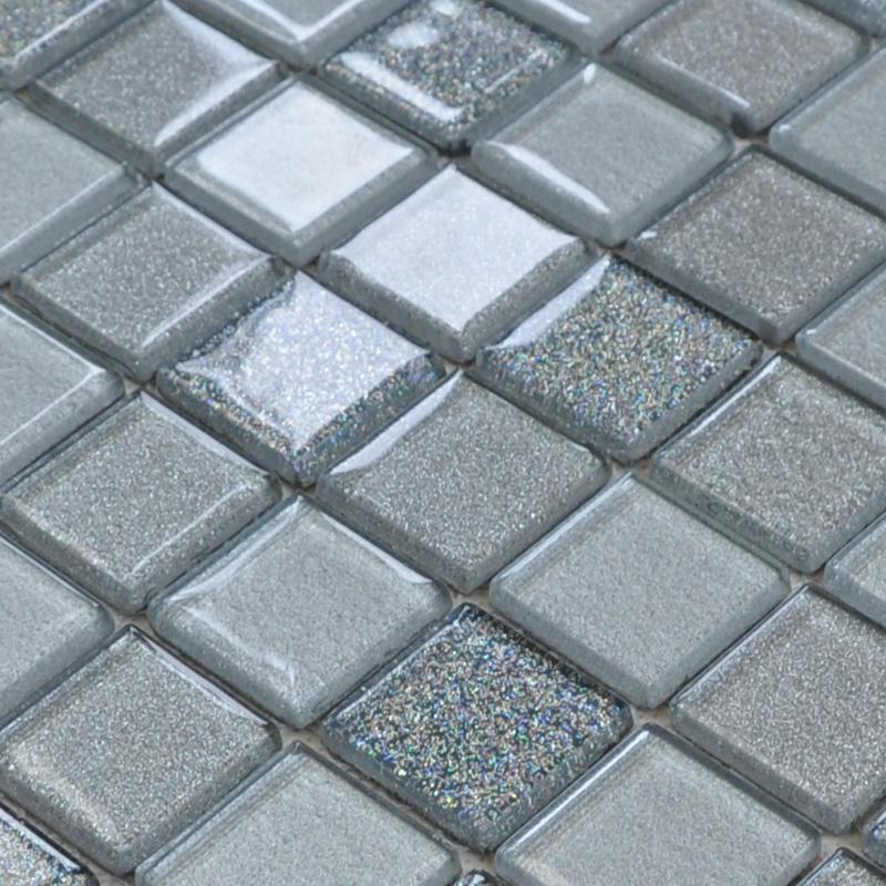 wholesale free shipping grey crystal glass mosaic tiles design kitchen. Black Bedroom Furniture Sets. Home Design Ideas