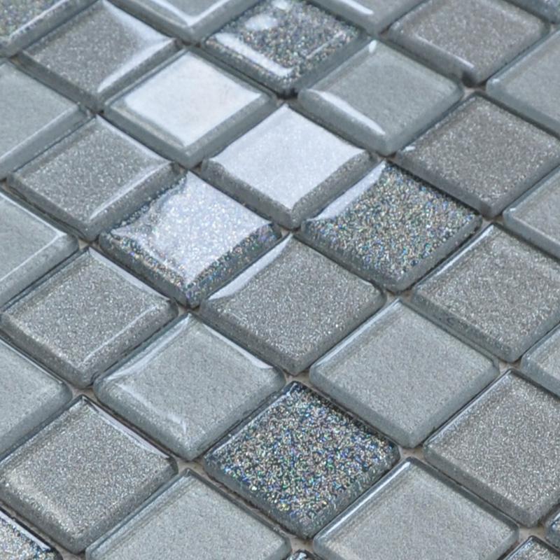 wholesale free shipping grey crystal glass mosaic tiles design kitchen. Black Bedroom Furniture Sets. Home Design Ideas