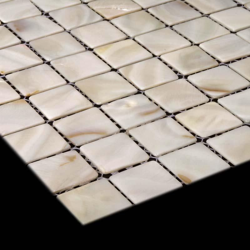 fresh water mother of pearl shell mosaic tile kitchen backsplash hom. Black Bedroom Furniture Sets. Home Design Ideas