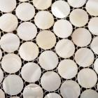 white mother of pearl tile bathroom wall mirror tiles penny round shell mosaic tile shower wall tile