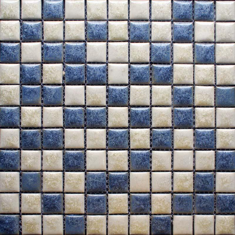 Tiles With Borders: Porcelain Mosaic Tile Kitchen Backsplash Border