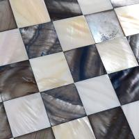 shell mosaic tiles black & white mother of pearl tile kitchen backsplash painting colorful seashell mosaics pearl wall tiles