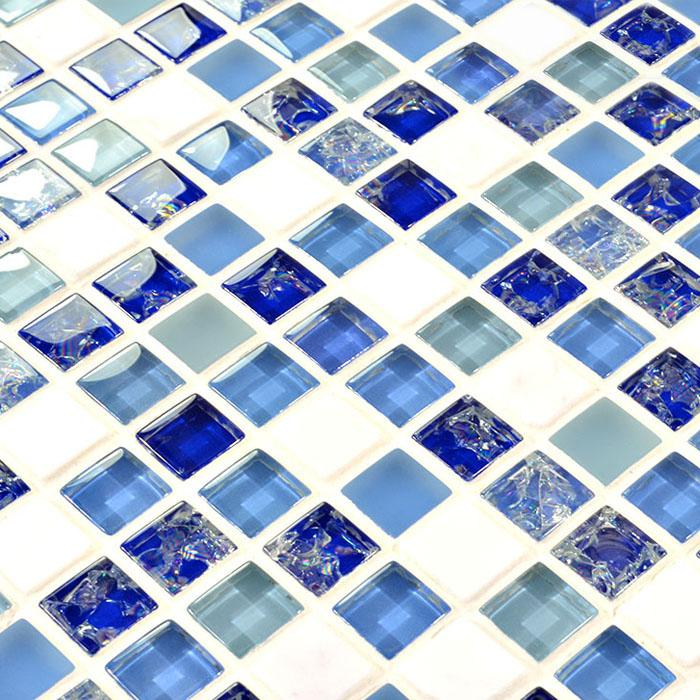 glass mosaic tile white marble stone mosaic glass mosaic wall tile h. Black Bedroom Furniture Sets. Home Design Ideas