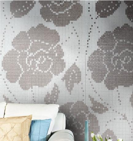Crystal Glass Backsplash Wall Tiles Puzzle Mosaic Tile