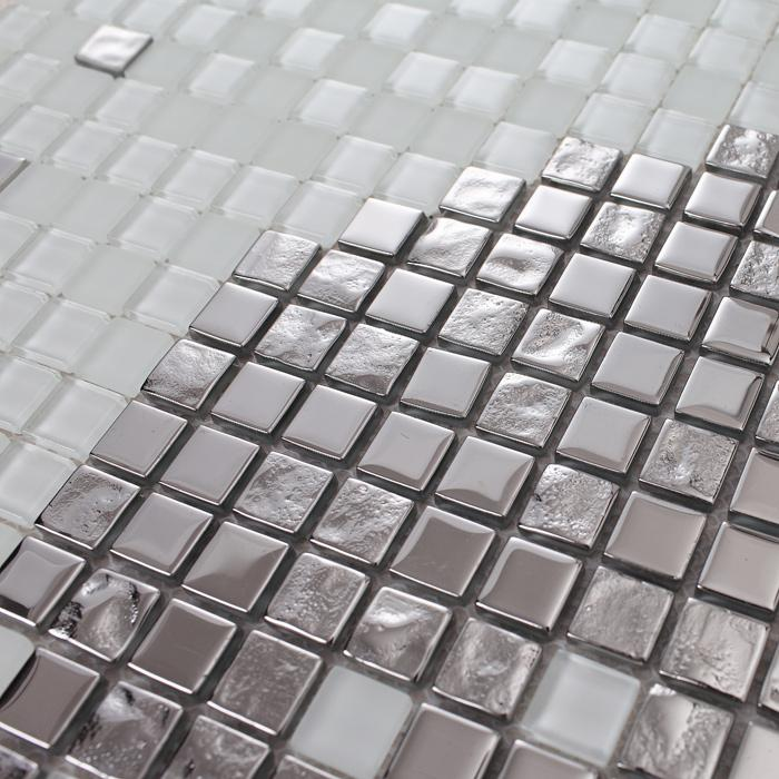 crystal glass backsplash wall tiles puzzle mosaic tile. Black Bedroom Furniture Sets. Home Design Ideas