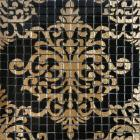 crystal glass tile black puzzle mosaic tile crystal backsplash kitchen mosaic wall tiles doud007
