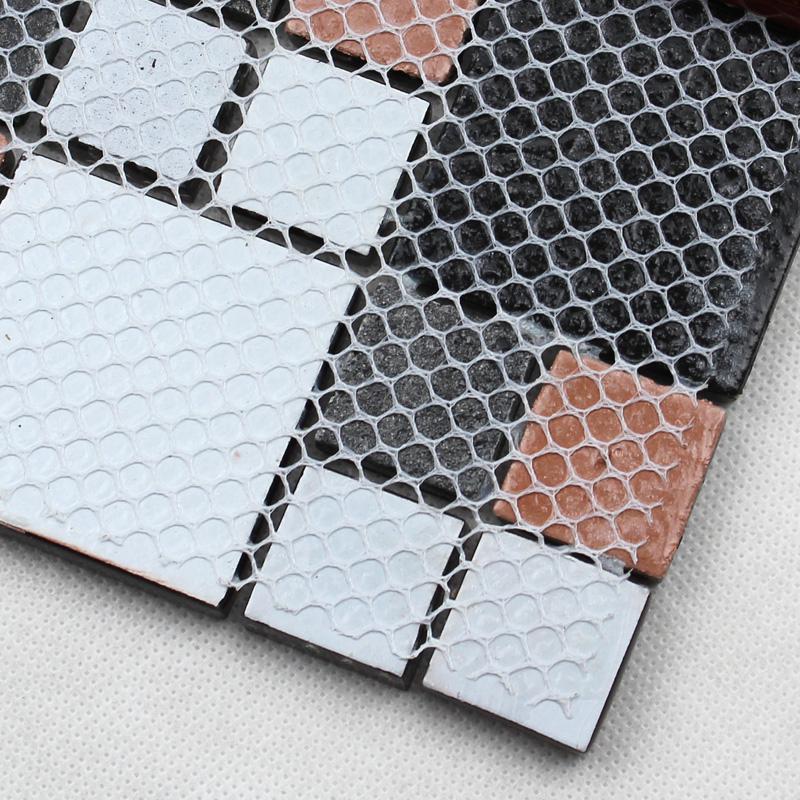 black glass tile silver glass mosaic tiles crystal backsplash homint. Black Bedroom Furniture Sets. Home Design Ideas