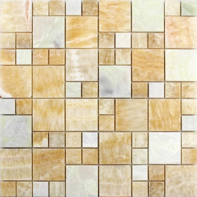 wholesale grey stone with white crystal mosaic tile sheet square backs. Black Bedroom Furniture Sets. Home Design Ideas