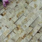 stone glass mosaic tile natural wood pattern wall marble tiles backsplash mosaic tile sgs06-1