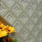 stone glass mosaic tile natural wood pattern wall marble tiles backsplash mosaic tile sgs2014-02